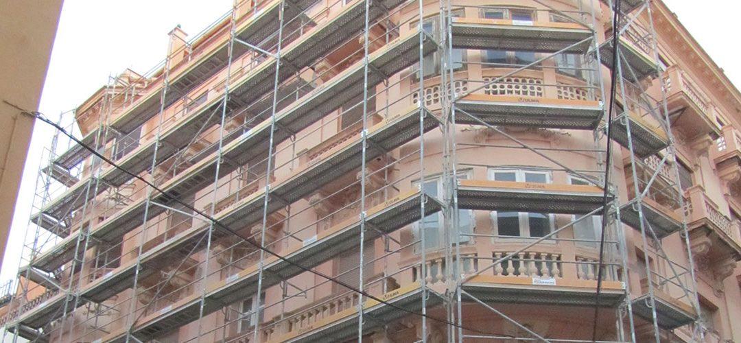 Rehabilitación edificio Sebastián Souvirón
